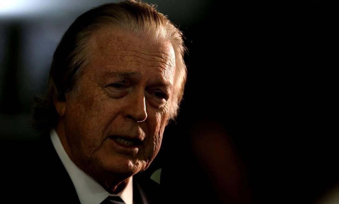O pedido de expulsão partiu do próprio presidente do PSL, o deputado Luciano Bivar (PE). A votação foi unânime, com nove se posicionando a favor da expulsão de Frota Foto: Agência O Globo