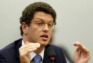Ministro do Meio Ambiente, Ricardo Salles Foto: Jorge William / Agência O Globo