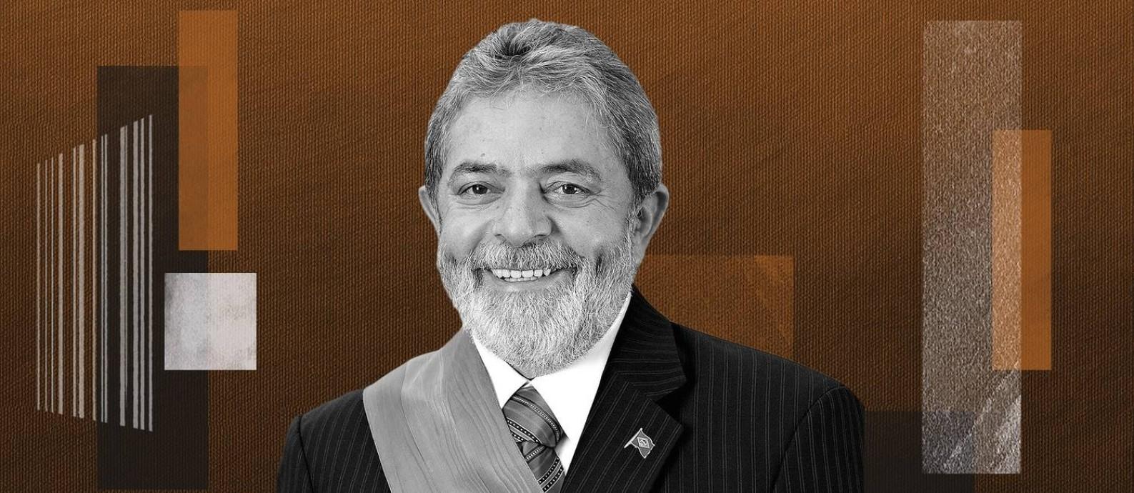 O ex-presidente da República Luiz Inácio Lula da Silva (2003-2011) Foto: Arte/O Globo