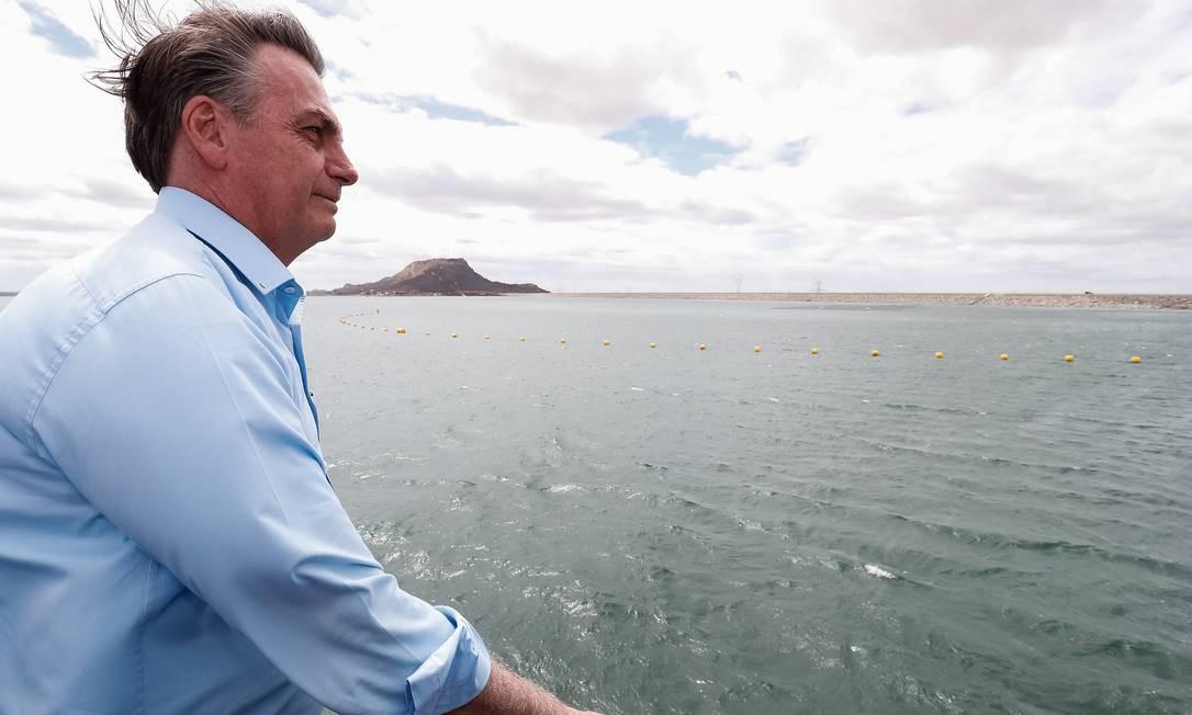 O presidente declarou na ocasião que fez críticas específicas aos governadores do Maranhão, Flávio Dino (PC do B) e da Paraíba, João Azevêdo (PSB) - 05/08/2019 Foto: Alan Santos / PR