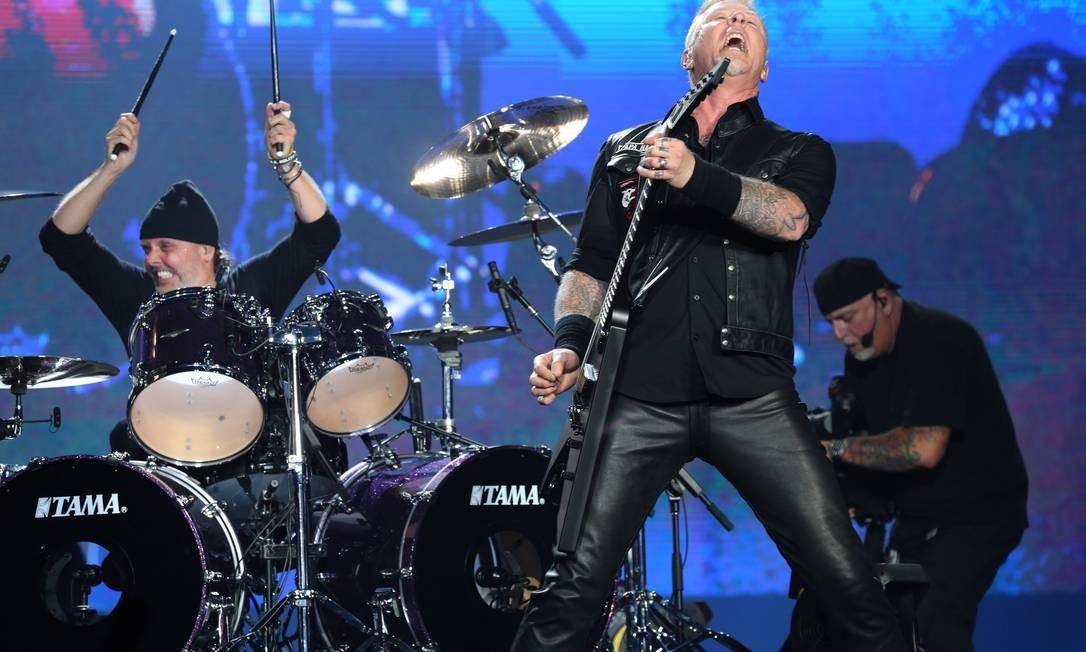 Metallica confirma shows no Brasil em 2020 - Jornal O Globo