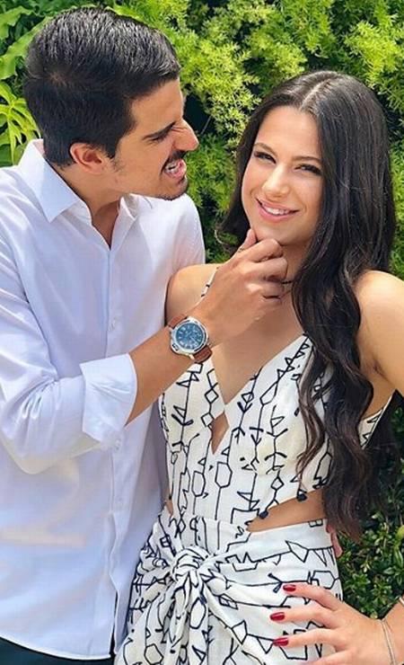 Sophia com o irmão, Enzo Celulari Foto: Reprodução/ Instagram