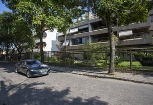 A execução da médica Maura Selvaggi Soares, na Rua Einsten, assustou a Barrinha Foto: Bruno Kaiuca / Agência O Globo