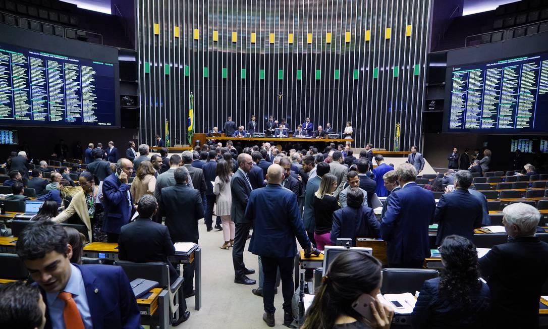 Projeto que define abuso de autoridade lista 37 ações que se enquadram na medida Foto: Pablo Valadares/Câmara dos Deputados