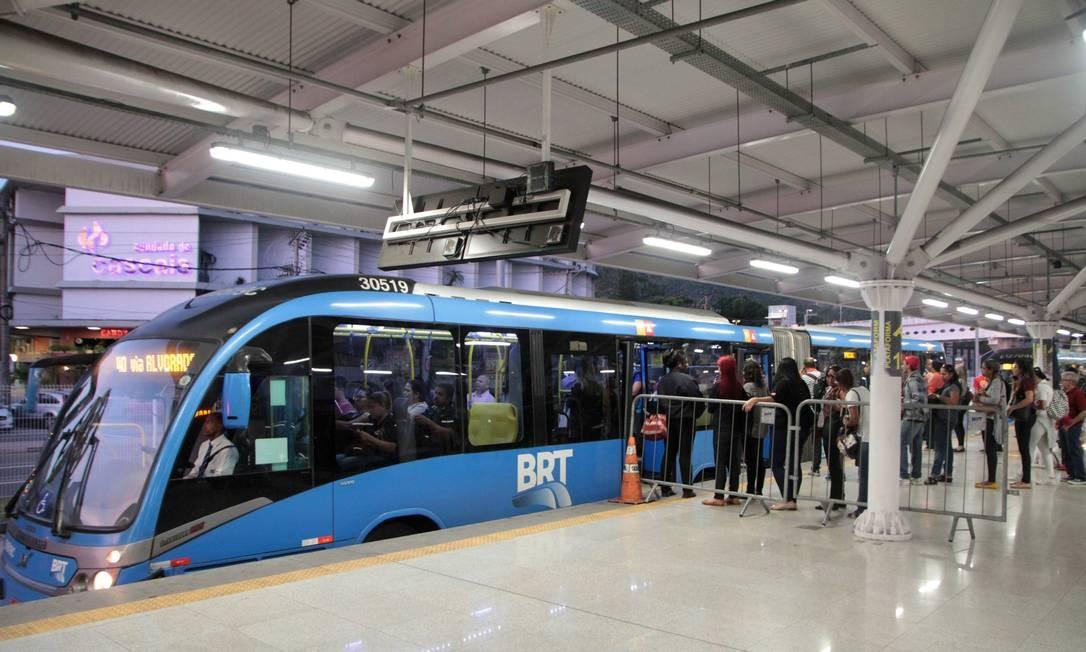 BRT Foto: Fernanda Dias / Agência O Globo