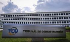 Sede do Tribunal de Contas da União (TCU) em Brasília (DF) Foto: André Coelho / Agência O Globo