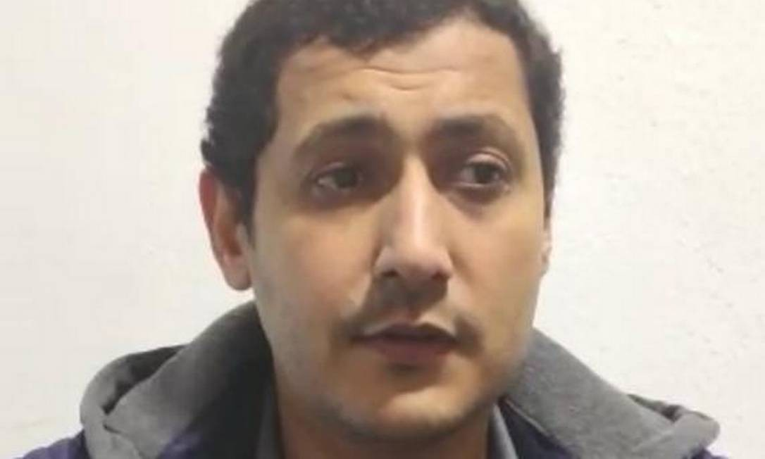 Mohamed Ahmed Elsayed Ibrahim, procurado pelo FBI por suposta participação na organização terrorista al-Qaeda Foto: Muslim Ronaldo Vaz de Oliveira