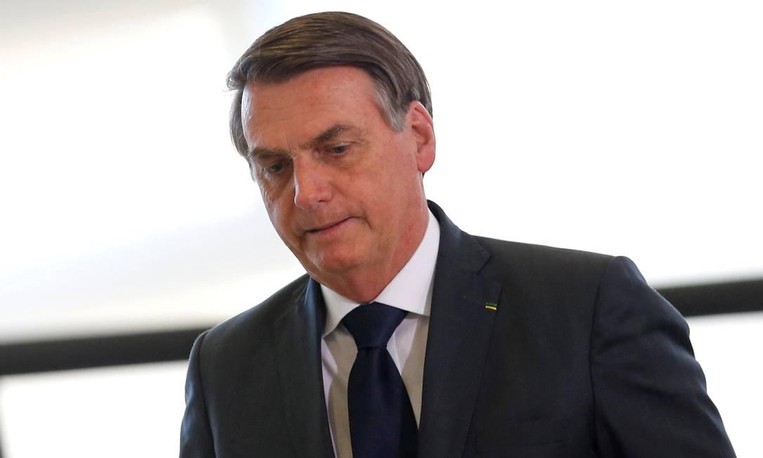 Presidente Jair Bolsonaro manda recado à chanceler alemã Angela Merkel Foto: ADRIANO MACHADO / REUTERS