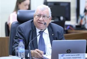 O vice-presidente do Conselho Superior do Ministério Público, o subprocurador Alcides Martins Foto: Antonio Augusto/PGR/Divulgação