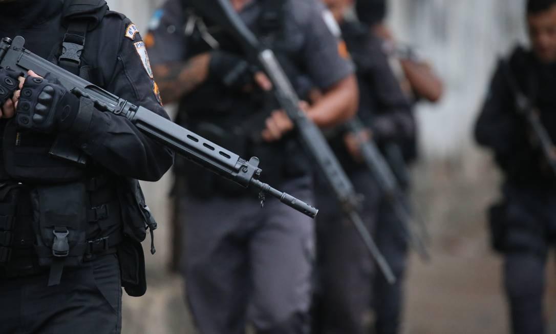 Operações policiais precisam passar por regras de Ação Civil Pública Foto: Fabiano Rocha / Fabiano Rocha