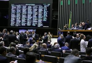 Projeto que define abuso de autoridade lista 37 ações que se enquadram na medida Foto: Jorge William / Agência O Globo