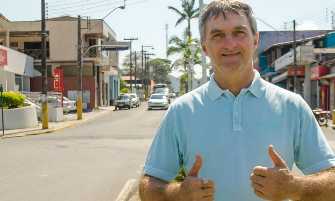 Renato Bolsonaro, irmão do presidente Jair Bolsonaro que vive em Miracatu (SP) Foto: Reprodução / Redes sociais