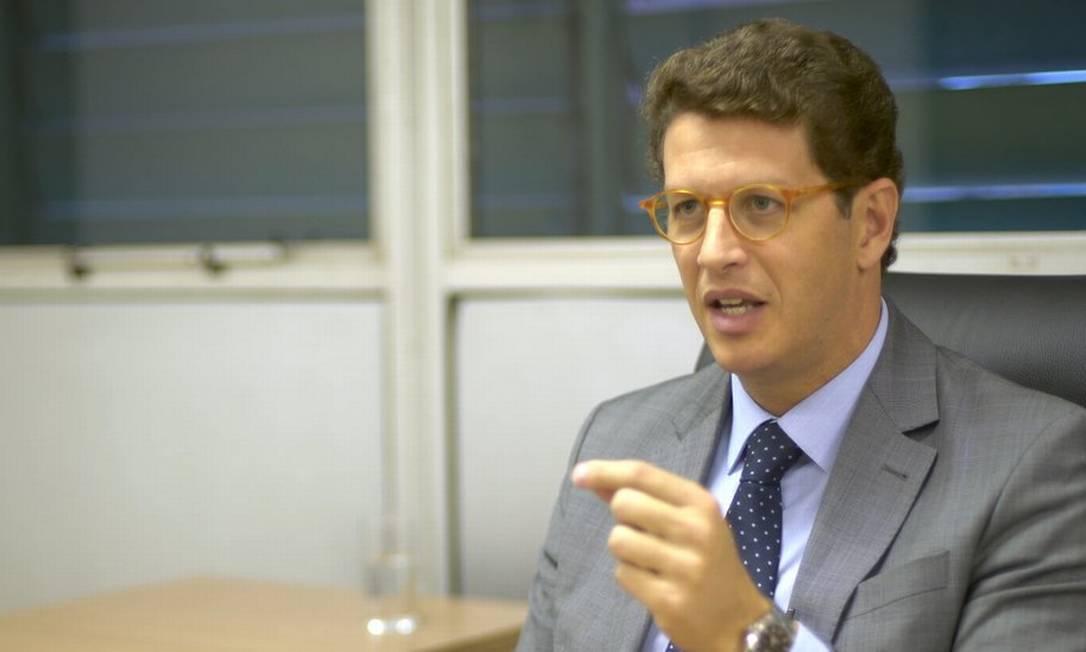 O ministro do Meio Ambiente, Ricardo Salles Foto: Felix Llima/ BBC News Brasil