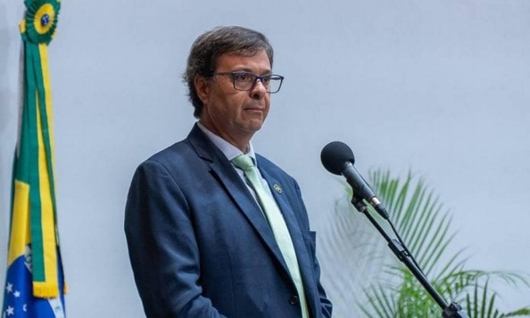 O presidente da Embratur, Gilson Machado Guimarães Neto Foto: Reprodução