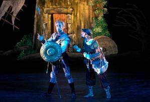 Ballet da Escola Maria Olenewa do Theatro Municipal encena adaptação de 'Dom Quixote' Foto: Divulgação
