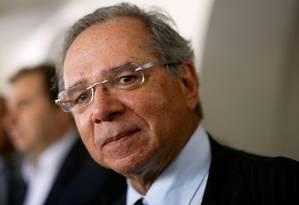 O ministro da Economia, Paulo Guedes 05/08/2019 Foto: Adriano Machado / REUTERS