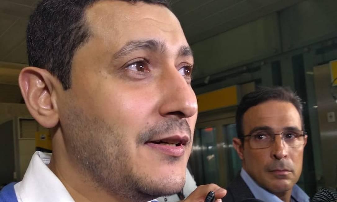 O egípcio Mohamed Ahmed Elsayed Ahmed Ibrahim, que é acusado de ser terrorista Foto: Gustavo Schmitt / Agência O Globo