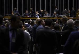 A Câmara aprovou, na quarta-feira, o projeto sobre abuso de autoridade Foto: Daniel Marenco / Agência O Globo