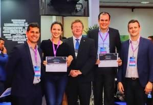Os vencedores vão representar o Brasil na Copa do Mundo de Empreendedorismo Foto: Patrik Vanin