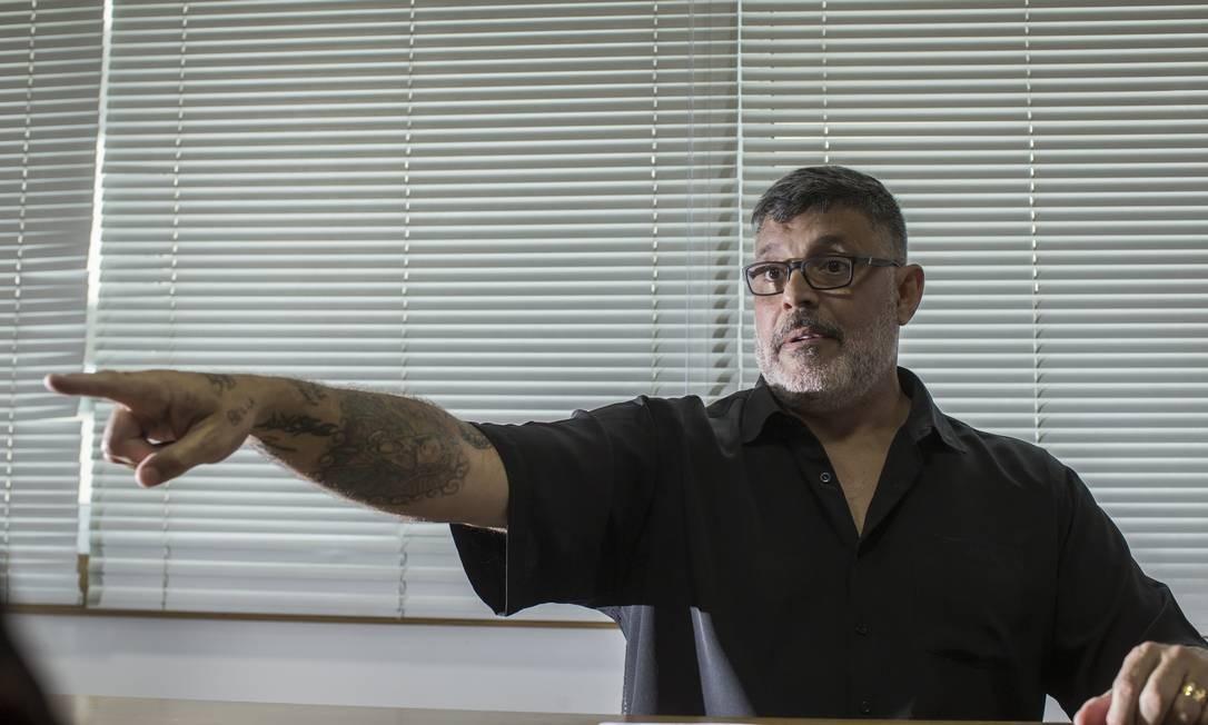 O deputado federal Alexandre Frota, expulso do PSL por 'desalinhamento' com o partido Foto: Edilson Dantas / Agência O Globo
