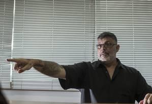 Alexandre Frota, expulso do PSL por 'desalinhamento' com o partido Foto: Edilson Dantas / Agência O Globo
