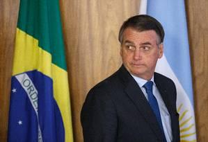 Jair Bolsonaro Foto: Daniel Marenco / Agência O Globo