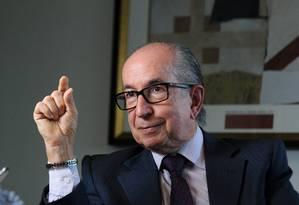 Marcos Cintra foi demitido do cargo de secretário especial da Receita Foto: Leo Pinheiro / Agência O Globo
