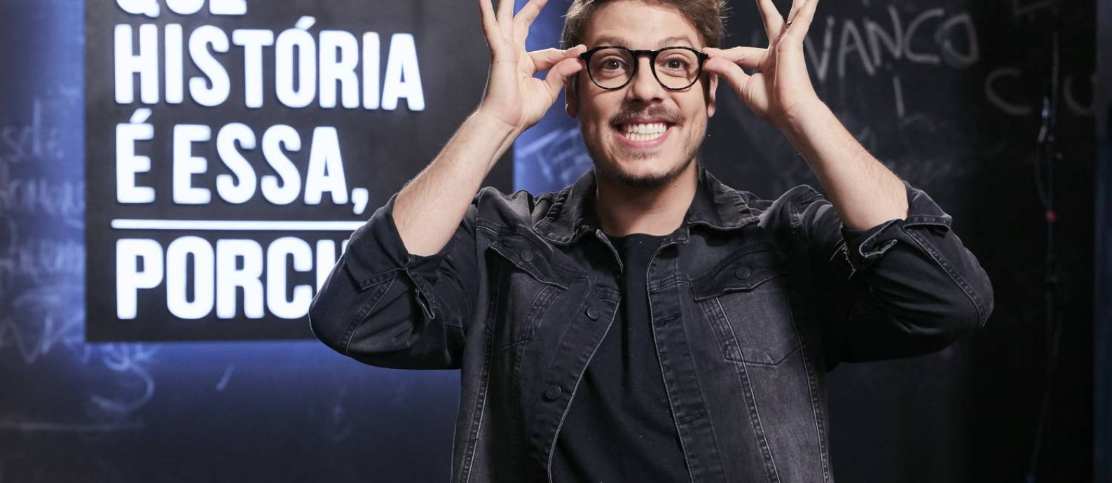 """Fábio Porchat estreou recentemente seu novo programa no GNT:""""Que história é essa, Porchat?"""" Foto: Juliana Coutinho"""