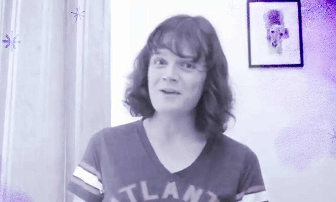 "A jornalista transgênero Nicky Bandini do ""Guardian"" Foto: Reprodução/ Twitter"