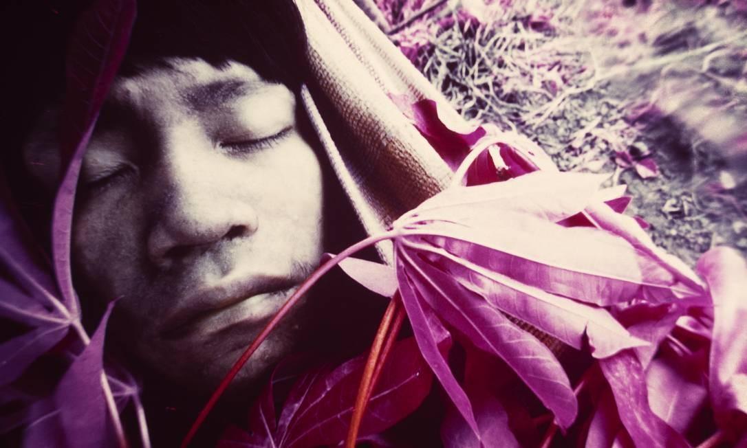 Uma das fotos de Claudia Andujar na exposição que celebra a luta da fotógrafa pela causa dos índios Yanomamis, em cartaz no Instituto Moreira Salles Foto: Claudia Andujar / Divulgação