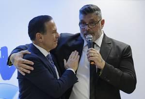 Após ser expulso do PSL, o deputado federal Alexandre Frota se filia ao PSDB Foto: NELSON ANTOINE / Estadão Conteúdo