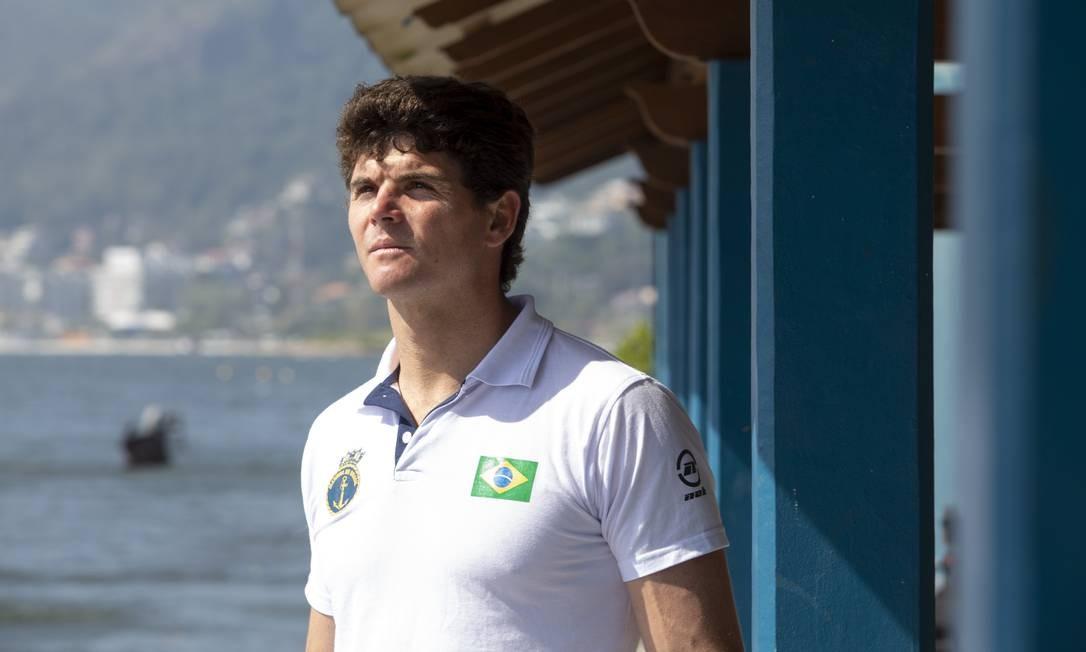 Foco em Tóquio. Atleta quer vaga na Olimpíada Foto: Bruno Kaiuca / Agência O Globo
