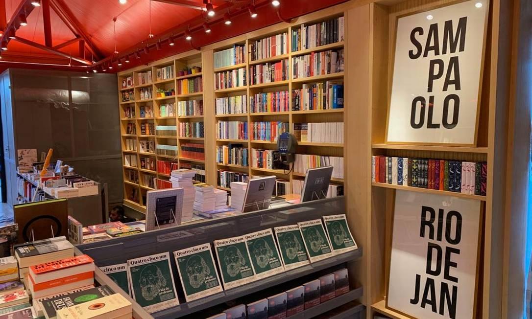 A nova loja da livraria da Travessa, em São Paulo Foto: Divulgação