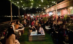 Noite de piquenique ao lugar no Rio Gastronomia Foto: Adriana Lorete / Agência O Globo