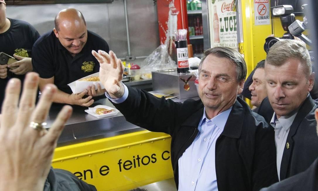 Bolsonaro diz que vai ter veto no projeto de abuso de autoridade aprovado na Câmara Foto: Fernando Frazão / Agência Brasil