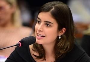 Tabata Amaral, deputada federal do PDT Foto: Reprodução Facebook