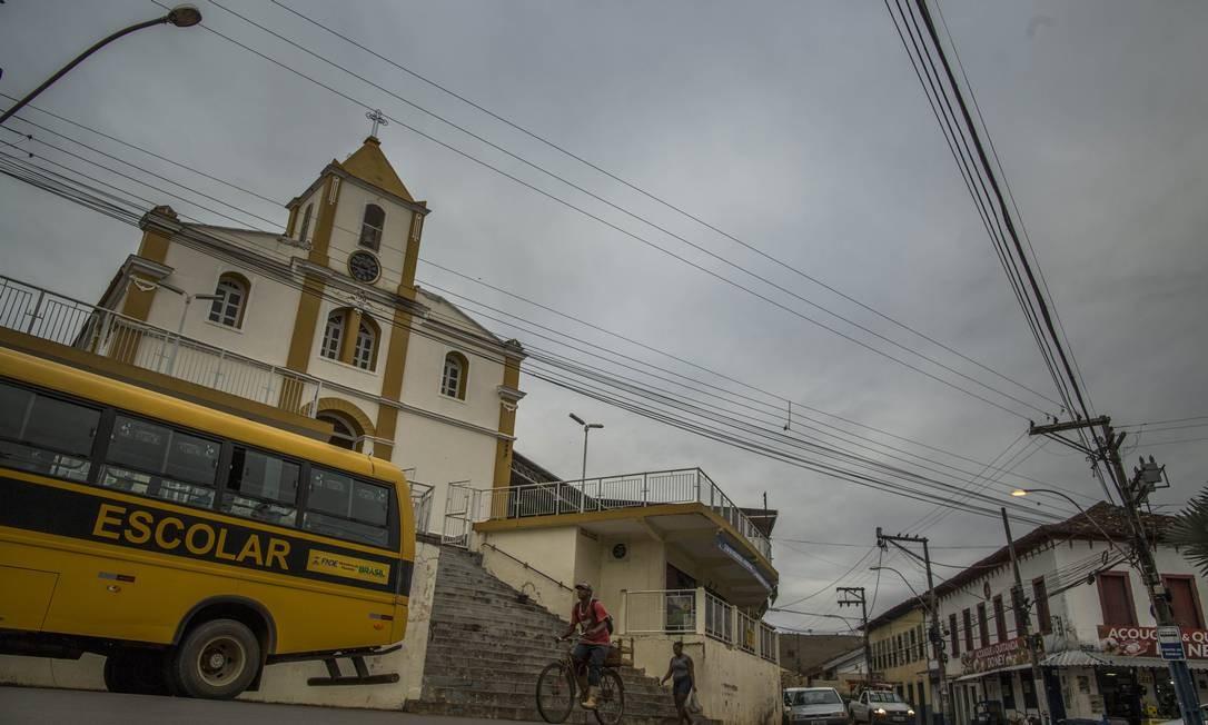 Na cidade, há apenas cinco unidades escolares: duas creches, duas escolas municipais e um Ciep Foto: Guito Moreto / Agência O Globo