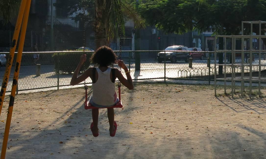 Racismo vivido por pais e crianças prejudica o desenvolvimento Foto: Mauricio Peixoto / Agência O Globo