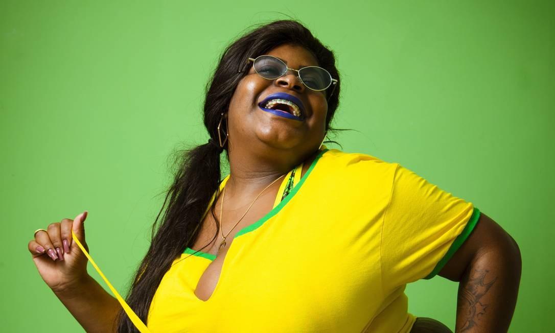 """MC Jojo Todynho, cantora de Funk, que ficou conhecida com a música """"Que Tiro Foi Esse"""". Nascida em Bangu, começou a cantar no coral da igreja que frequentava Foto: Leo Martins / Agência O Globo"""