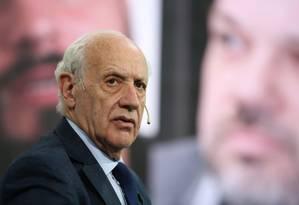 Roberto Lavagna: terceiro colocado nas primárias, ex-ministro ganha importância na campanha eleitoral argentina Foto: La Nación