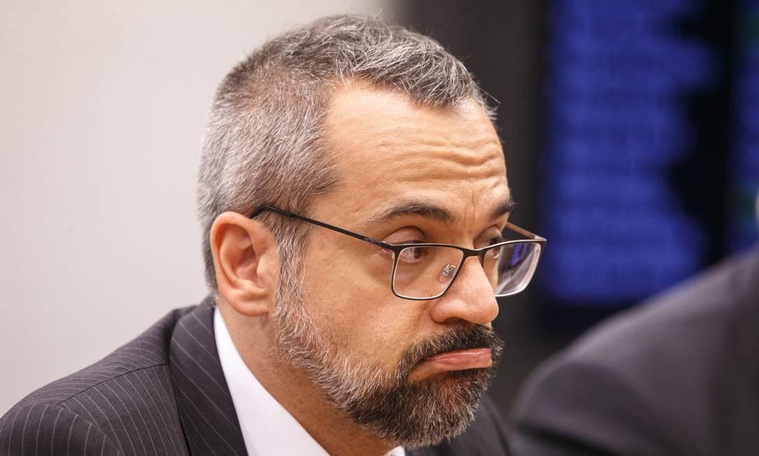 O ministro da Educacao, Abraham Weintraub Foto: Daniel Marenco / Agência O Globo