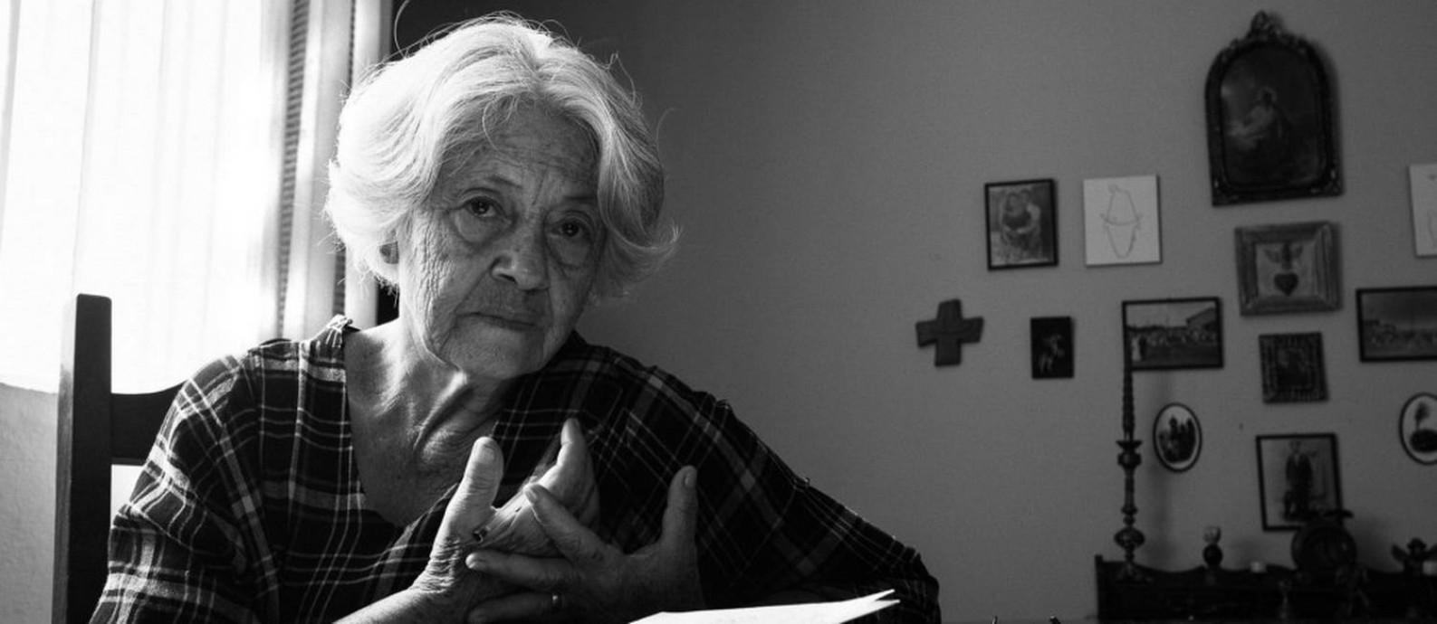 A poeta mineira Adélia Prado Foto: Nana Moraes