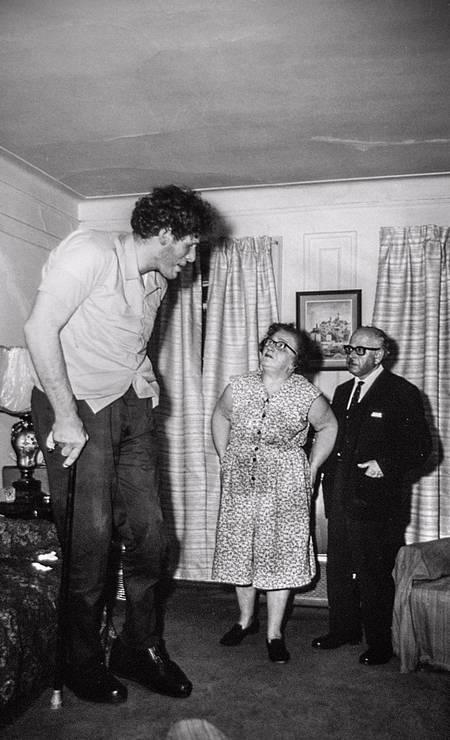 """""""O judeu gigante"""", foto de Diane Arbus Foto: Diane Arbus"""