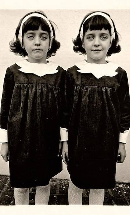 Gêmeas por Diane Arbus Foto: Diane Arbus