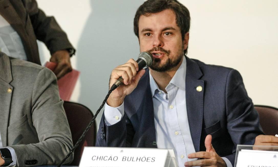 Chicão Bulhões afirma que denúncia de fraude em licitação precisa ser investigada Foto: Divulgação/ Alerj