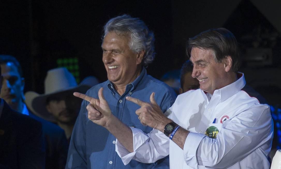Presidente Jair Bolsonaro na festa de peão de Barretos Foto: Edilson Dantas / Agência O Globo