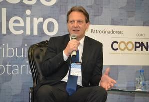Atual diretor de supervisão do Coaf, Roberto Liáo temlarga experiência no combate à lavagem de dinheiro Foto: Divulgação/Sinoreg-MG