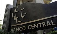 Fachada do Banco Central em Brasília Foto: Arquivo O Globo