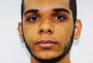 Sequestrador morto na ação: Willian tinha 20 anos Foto: Reprodução