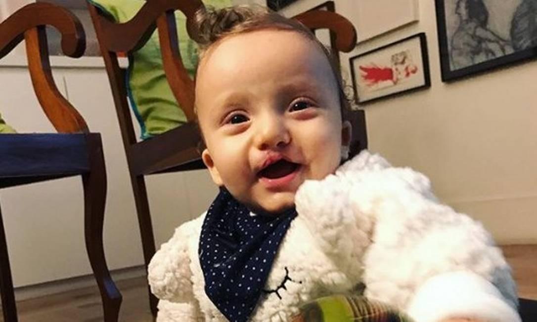Francico, o filho de 9 meses da modelo Isabel Hickmann Foto: Arquivo Pessoal